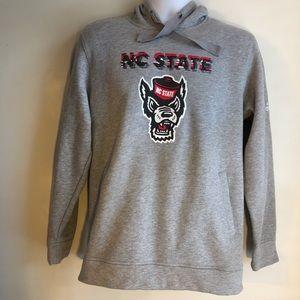 Adidas NC State Hooded Swearshirt
